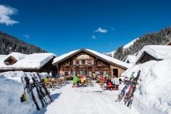 Die Garnhofhütte in Zauchensee